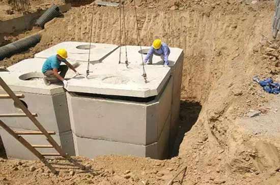 化粪池施工案例